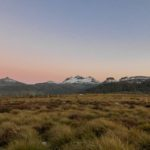 Sunset on the Overland Track